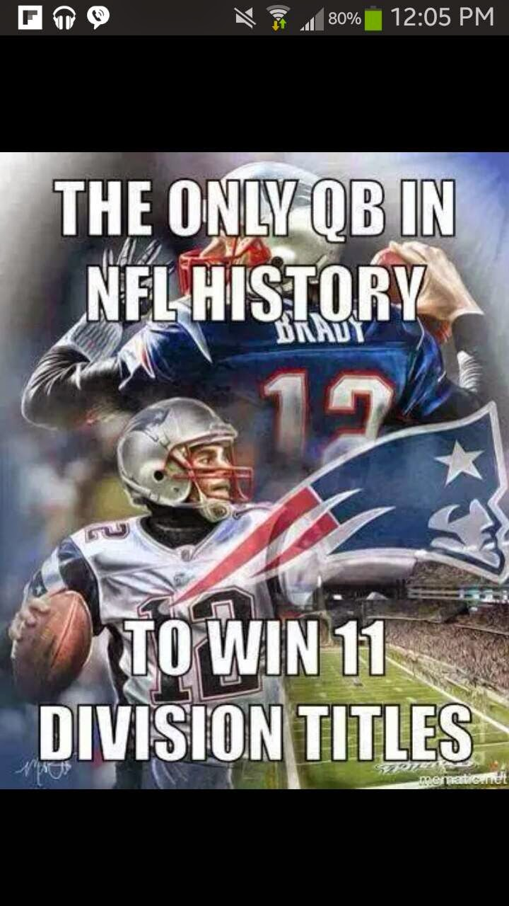 the only qb in nfl history to win 11 division titles
