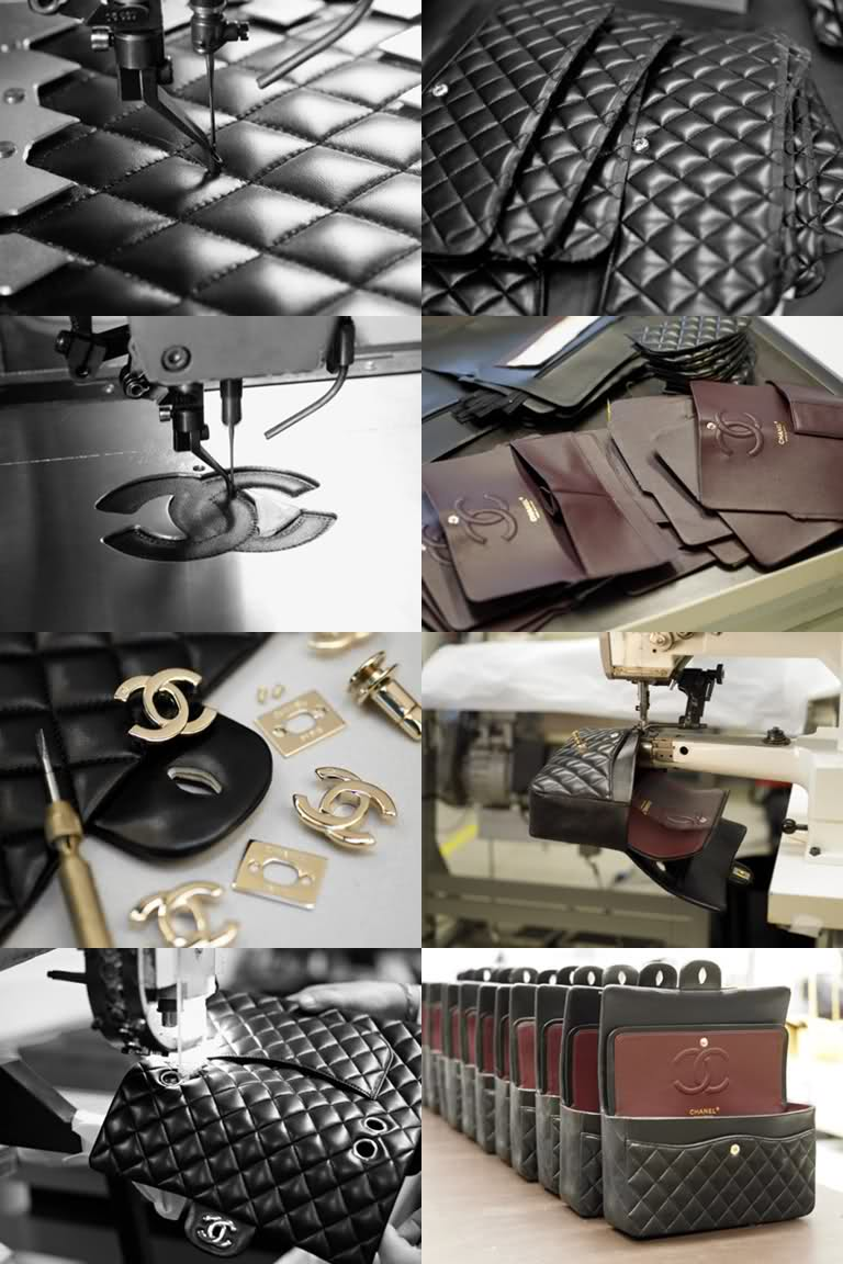 via fashioned by love | the making of Chanel 2.55