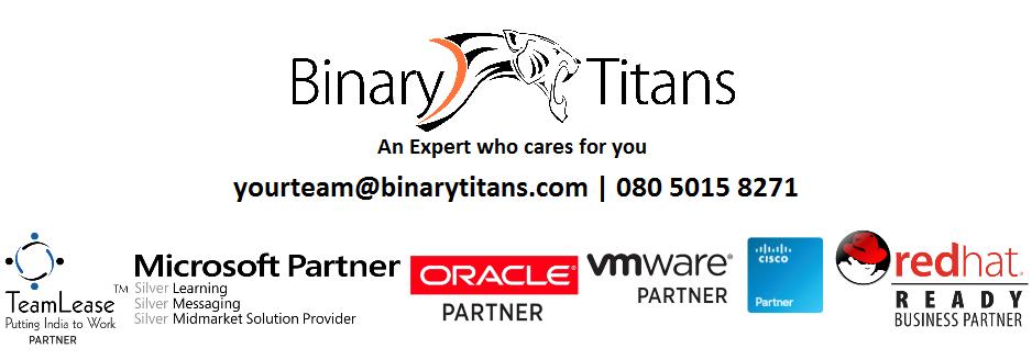 Blogs by BinaryTitans