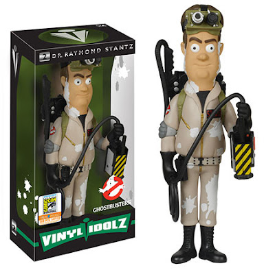 "San Diego Comic-Con 2015 Exclusive Ghostbusters ""Marshmallowed"" Raymond Stantz Vinyl Idolz Figure by Funko"