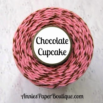 http://shop.anniespaperboutique.com/Chocolate-Cupcake-Trendy-Twine-Pink-Brown-Bakers-Twine-TT-108.htm?categoryId=-1