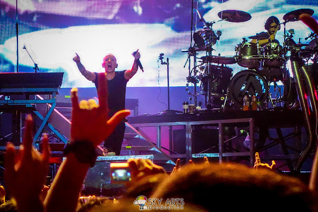 Chester - Linkin Park Living Things World Tour Live in Malaysia 2013