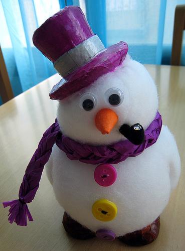 Mis rinconcitos navidad - Como hacer bolas de nieve ...