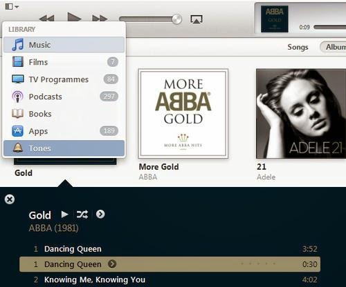 Cara membuat setiap lagu sebagai nada dering pada iPhone Anda