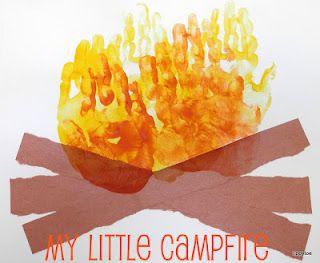 http://tippytoecrafts.blogspot.com/2012/06/handprint-campfires.html