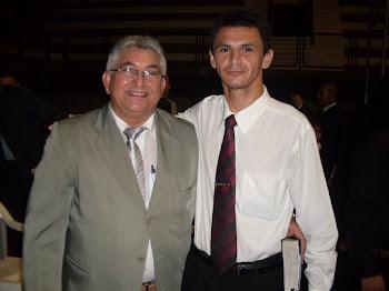 Eu e o meu pastor Francisco Erivelto