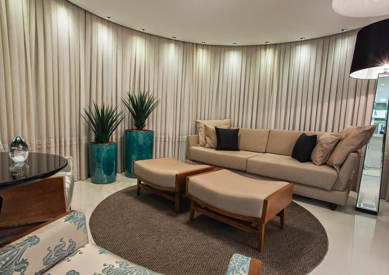 Sala De Estar Verde E Azul ~ Construindo Minha Casa Clean Vasos Vietnamitas na Decoração