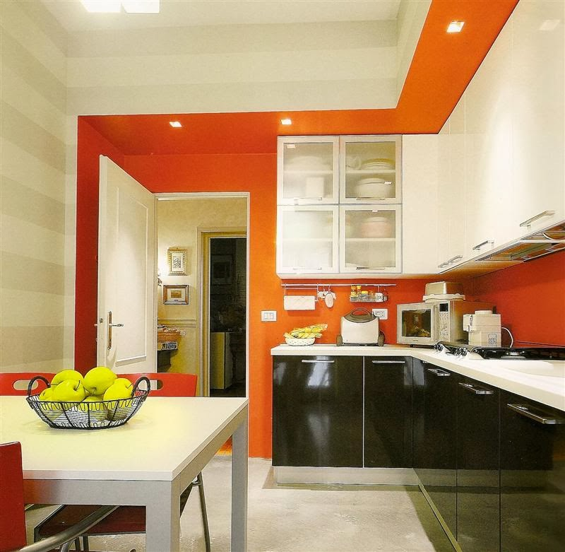 Tinteggiatura Parete Cucina: 20 idee per dipingere le pareti di casa.