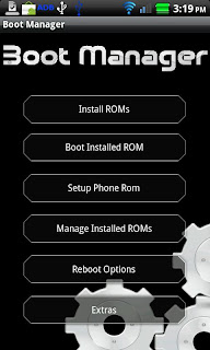 BootManager v1.1 Android Apk App