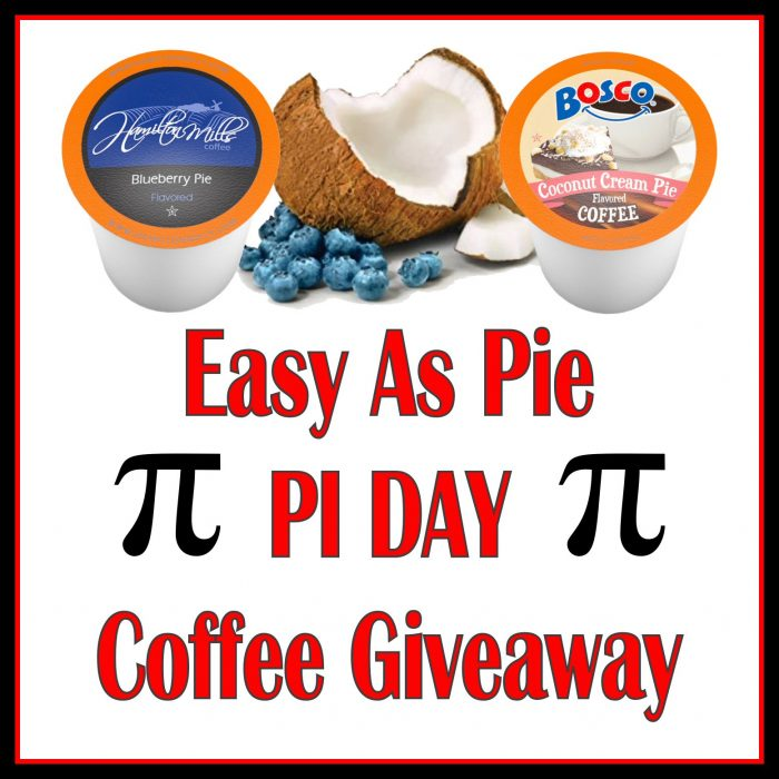 Easy As Pie Pi Day Coffee Giveaway