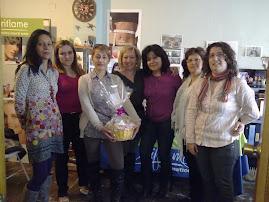 Entrega de Cesta Del Prospecting a: Ana Escobar del Bar ORIUS El Ejido