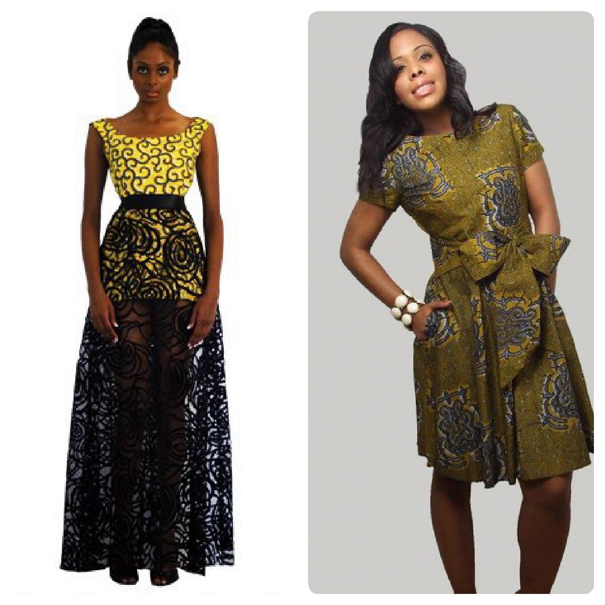 Wrap Around Dress Designer