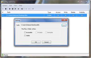 tool untuk menyembunyikan file dan folder pribadi,