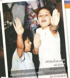 Kareena Kapoor Childhood PicturesKareena Kapoor And Ranbir Kapoor Childhood