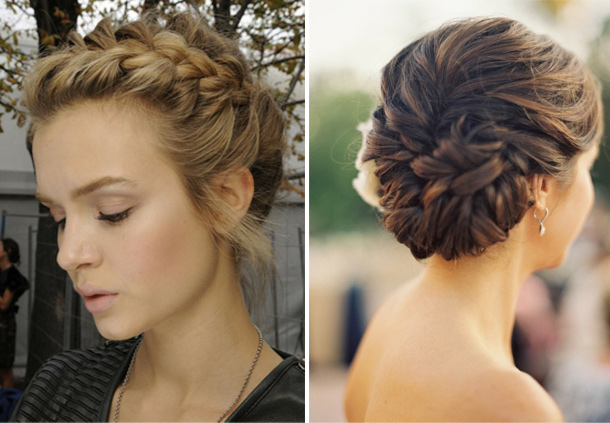 The 7 best pretty hairstyles for your wedding day raffaele ciuca braided updo pmusecretfo Image collections