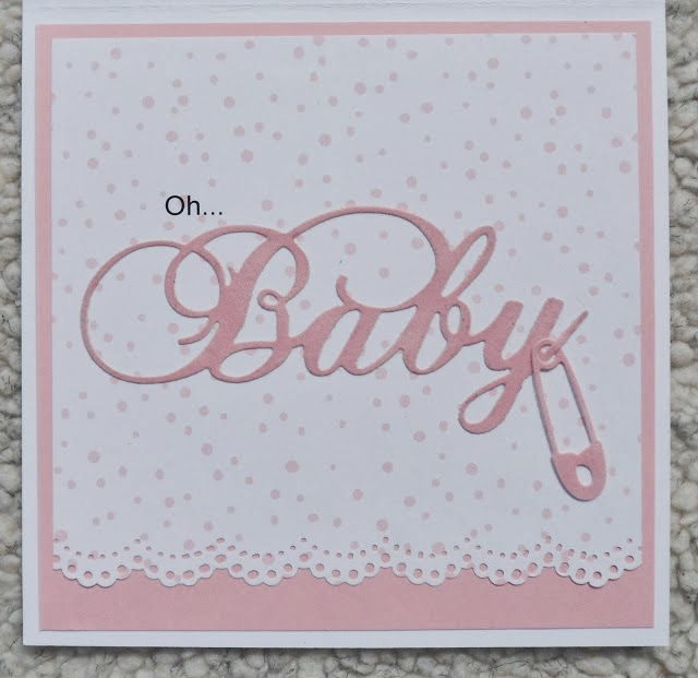 Cats creations october 2012 our real estate agent is in the process of having another baby girl and this card is perfect for them m4hsunfo