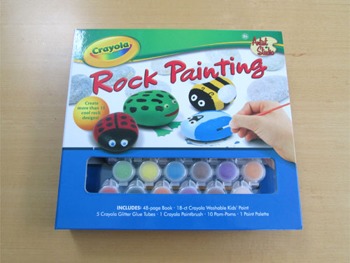 rock painting book Crayola