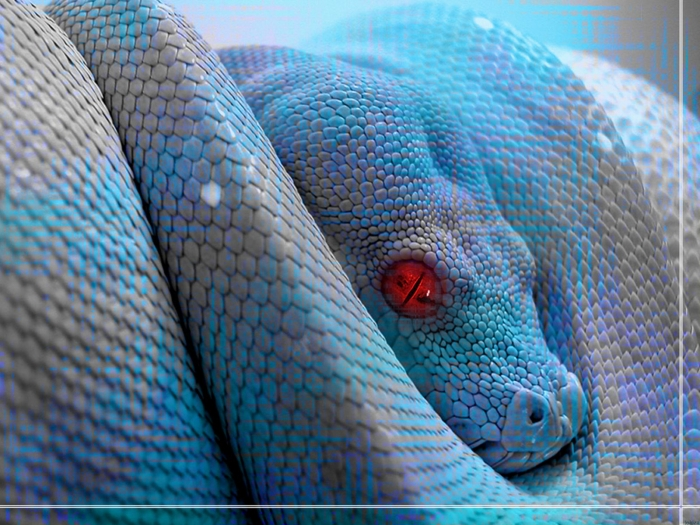 Jehovah is a noisy serpent.