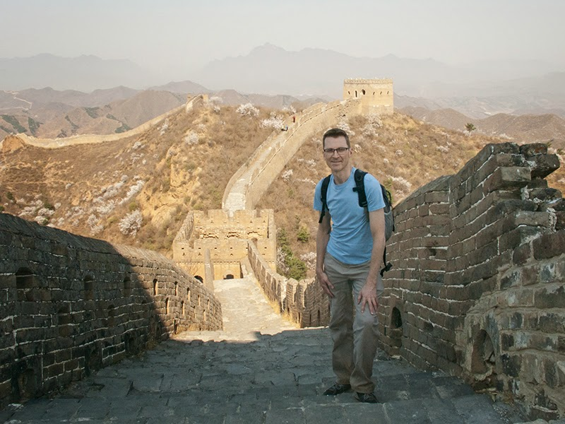 Photo de moi sur la Grande Muraille de Chine