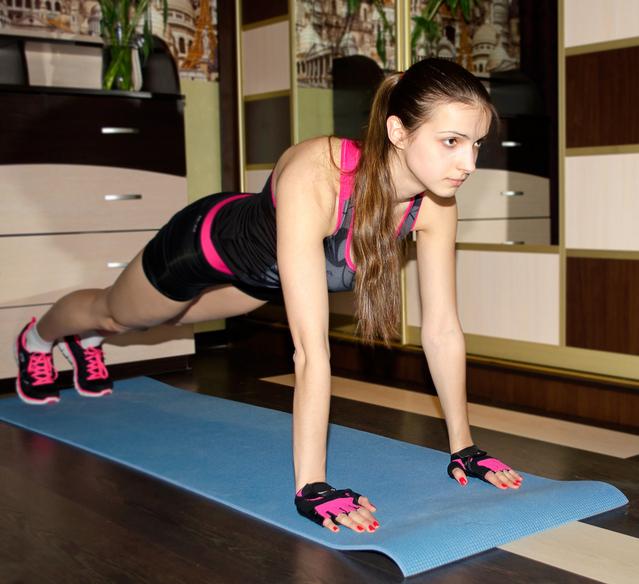 mengecilkan lengan push up