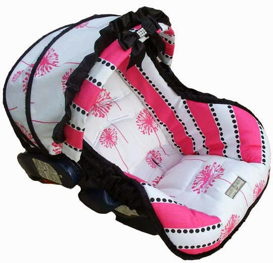 infant car seat cover dahlia
