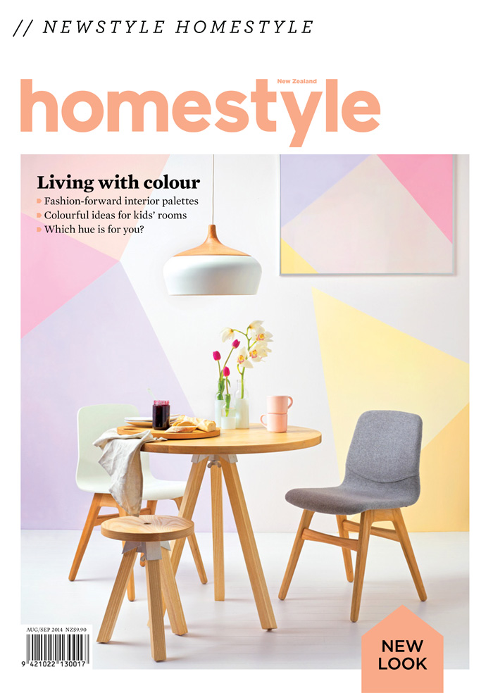 NZs Homestyle Magazine Went And Got Itself A Whole New Look