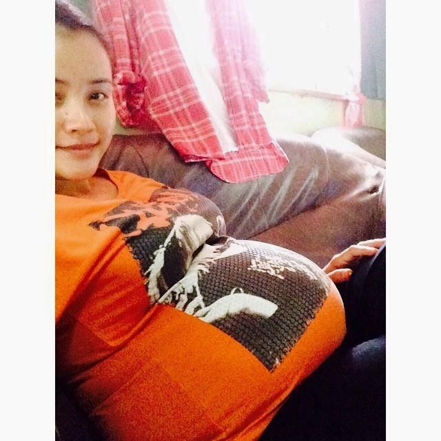 Almy Nadia Ulas Mengenai Hamil Anak Kembar, info, terkini, hiburan, sensasi, pelakon, almy nadia, anak kembar almy nadia, gosip terkini,