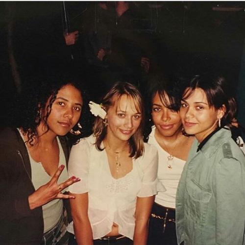 Aaliyah Archives: Aaliyah, Rashida & Kidada Jones: Rare ...
