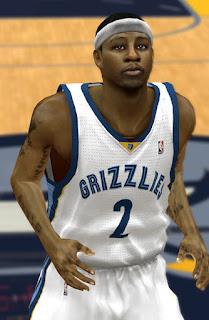 NBA 2K13 Josh Selby Cyber Face Mods