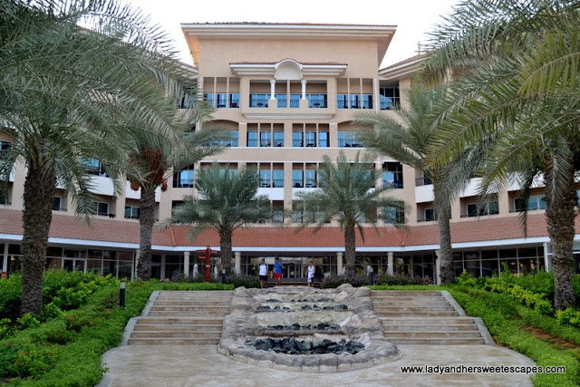 Fujairah Rotana Resort and Spa's main hotel