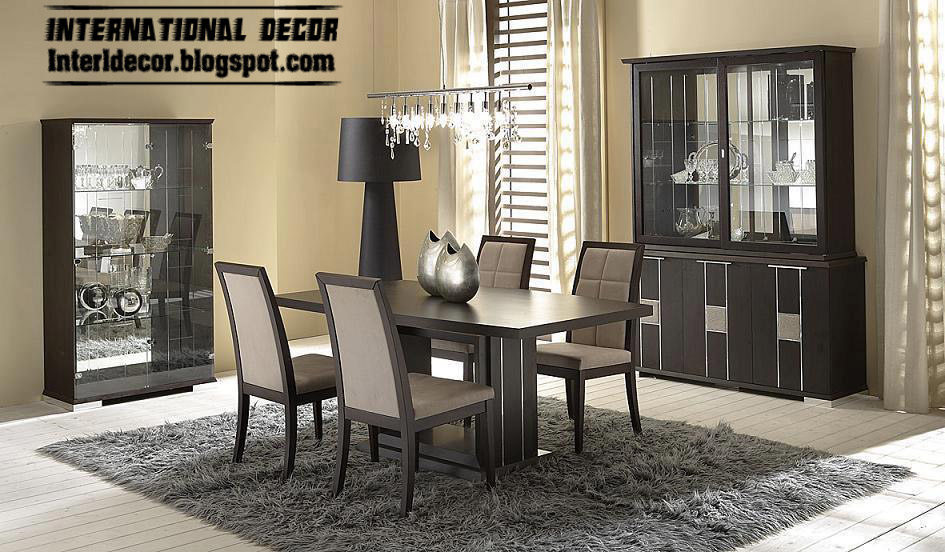 Spanish dining room furniture designs ideas 2015 for Contemporary dining room pictures