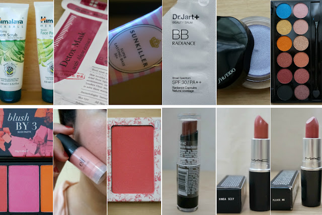 Best of 2015: Skin Care, Base, Eye Shadow, Blush, Lipstick