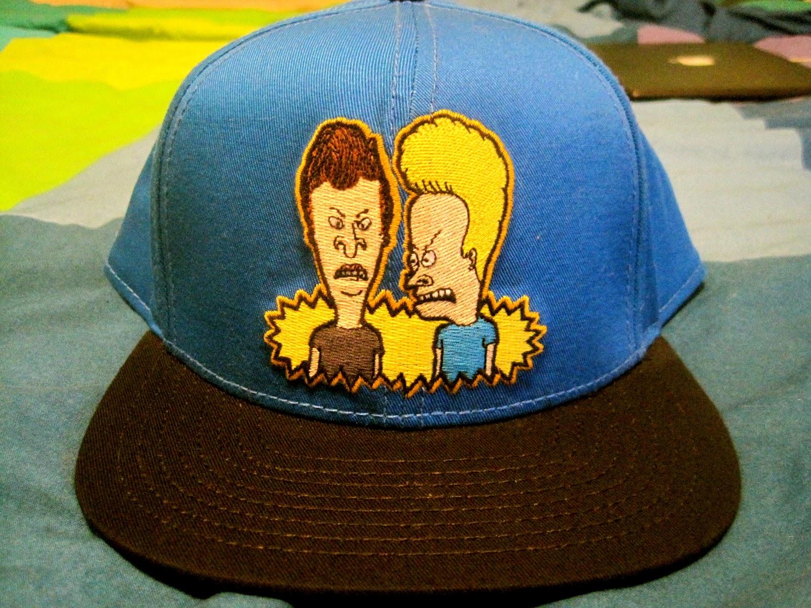98405ec8ede DON D WORLD  Beavis and Butthead MTV Snapback hat