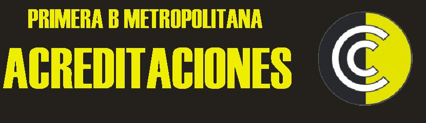 ACREDITACIONES