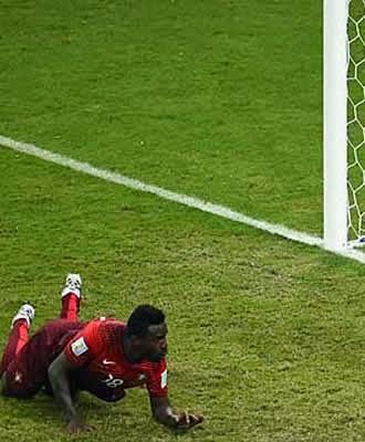 Nos acréscimos Portugal empata com EUA em Manaus e busca um milagre na última rodada