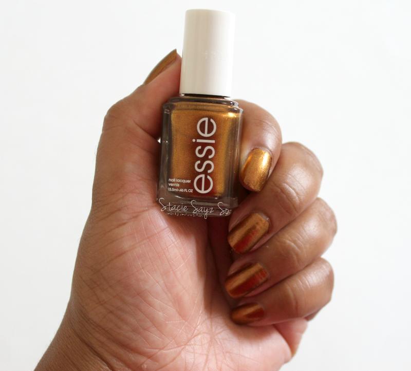 Essie Gold Nail Polish: Nailed It: New Essie Leggy Legend Nail Polish