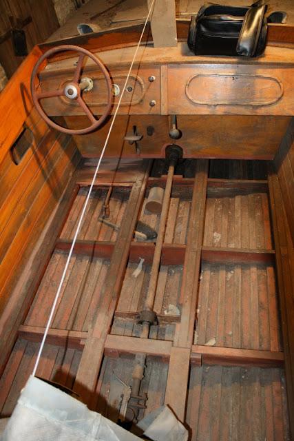 Vintage Boote mit flachem Boden
