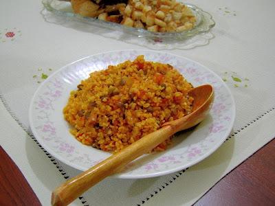 булгур, плов, овощи, псевдо-плов, вкусные рецепты с фото