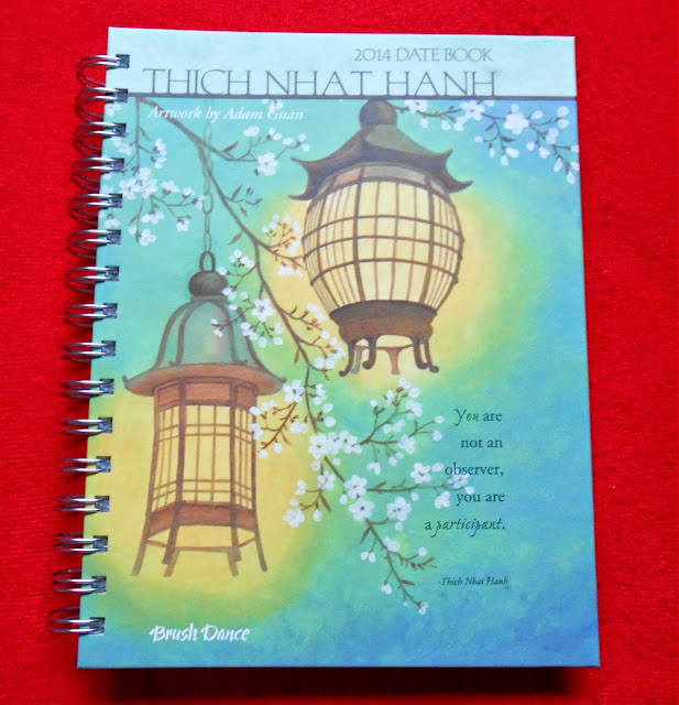 Inspirational Thich Nhat Hanh 2014 Diary from Vision Antics