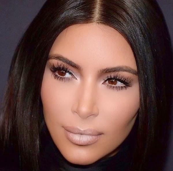 Kim Kardashian face