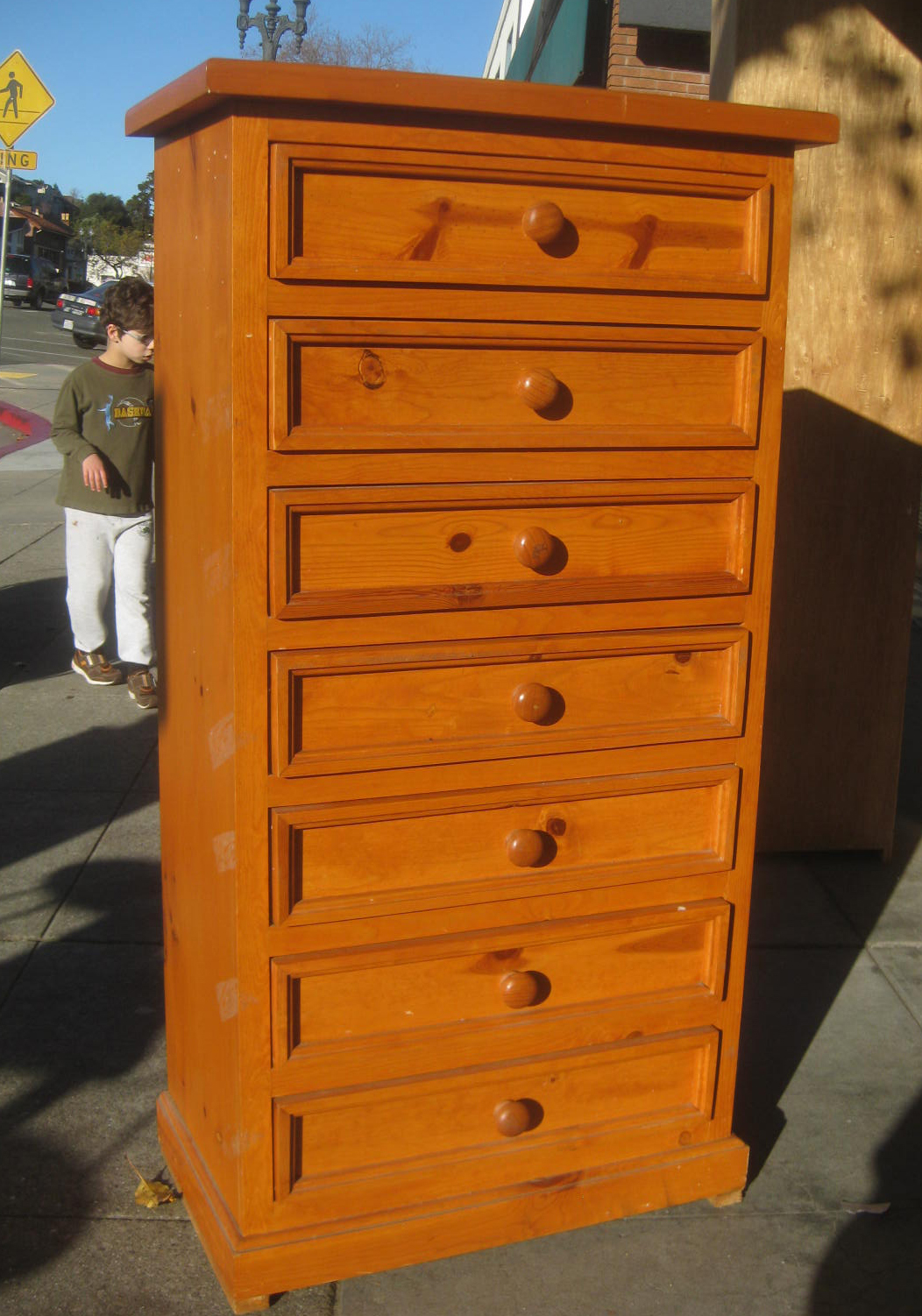 Genial SOLD   Knotty Pine Lingerie Chest   $115