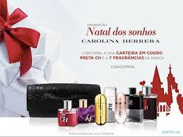 Promoção Natal dos Sonhos Carolina Herrera