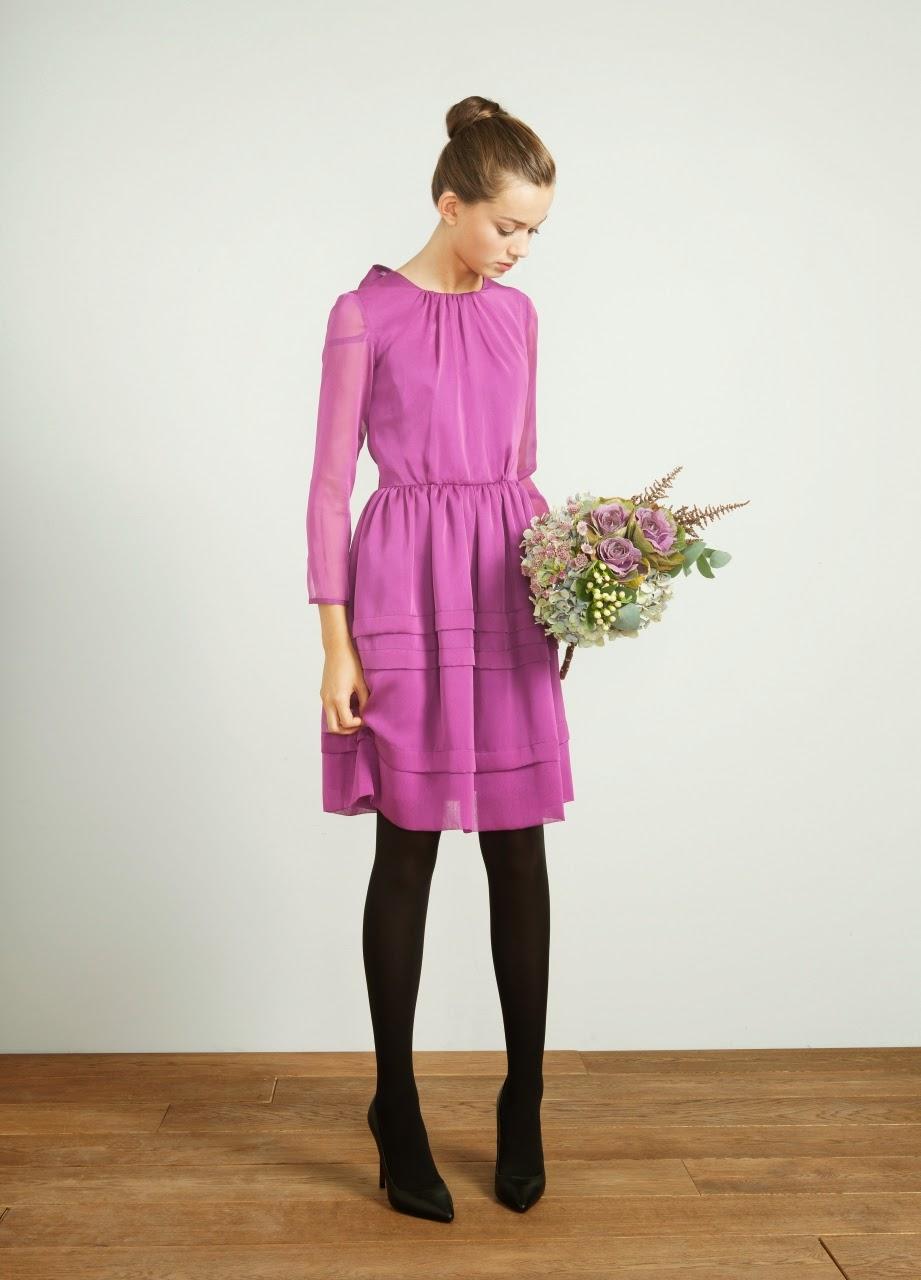 vestido buganvilla invitada invierno