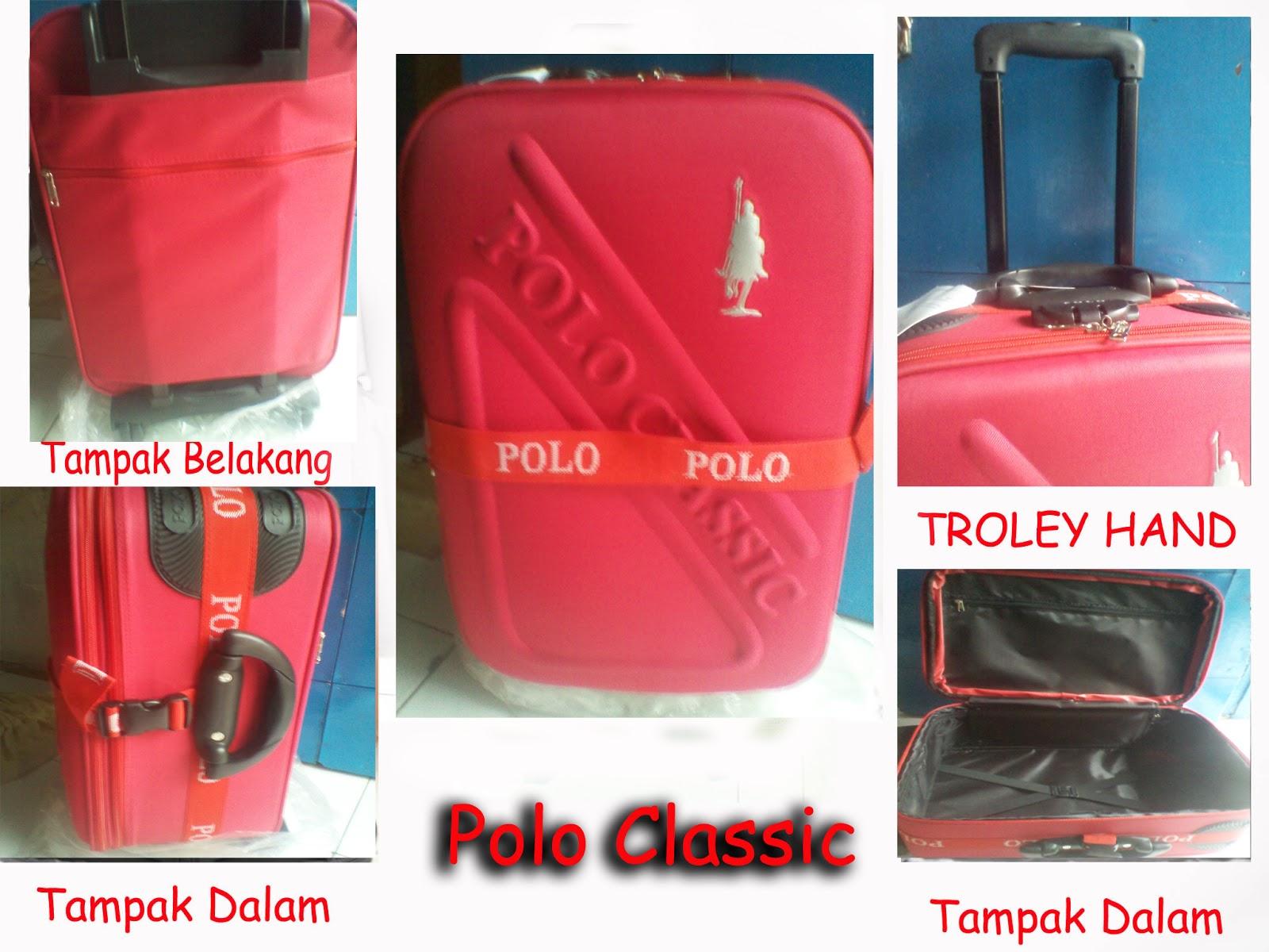 Tas Koper Polo Classic 5411 Kabin Size Red