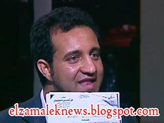 أحمد مرتضي منصور عضو مجلس إدارة نادي الزمالك