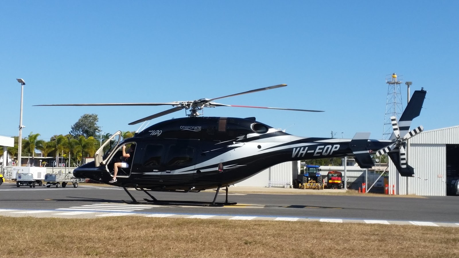 M Bel Airport central queensland plane spotting a of helicopters at gladstone airport corporate