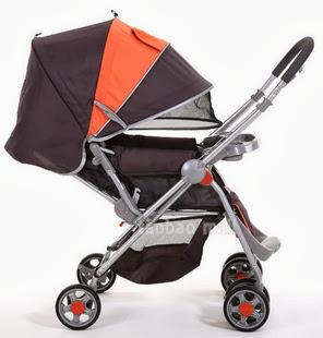 Xe đẩy em bé 2 chiều đa năng justin B370