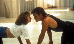 Love scene from the movie Dirty Dancing