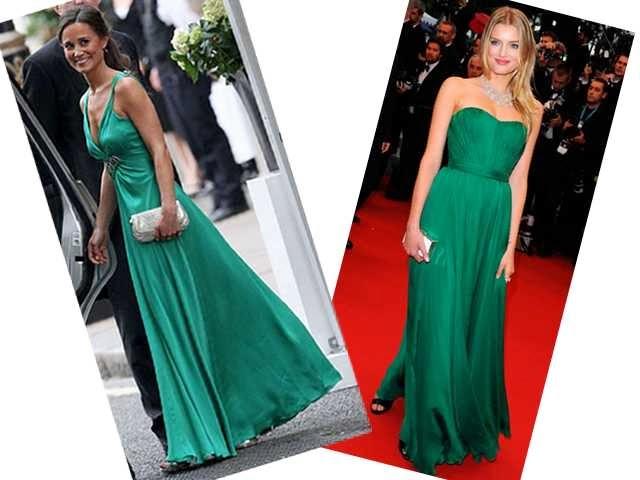 Qual acessório usar com vestido verde esmeralda