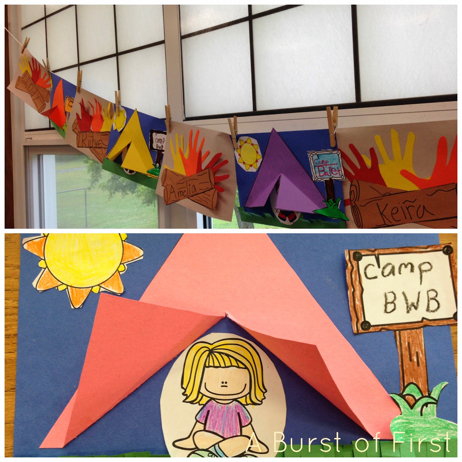 camping projects for preschoolers a camping we will go a burst of 244